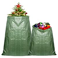 TUPARKA 2 Pcs Christmas Tree Storage Bag Removal Bags for Christmas Trees and Artificial Trees