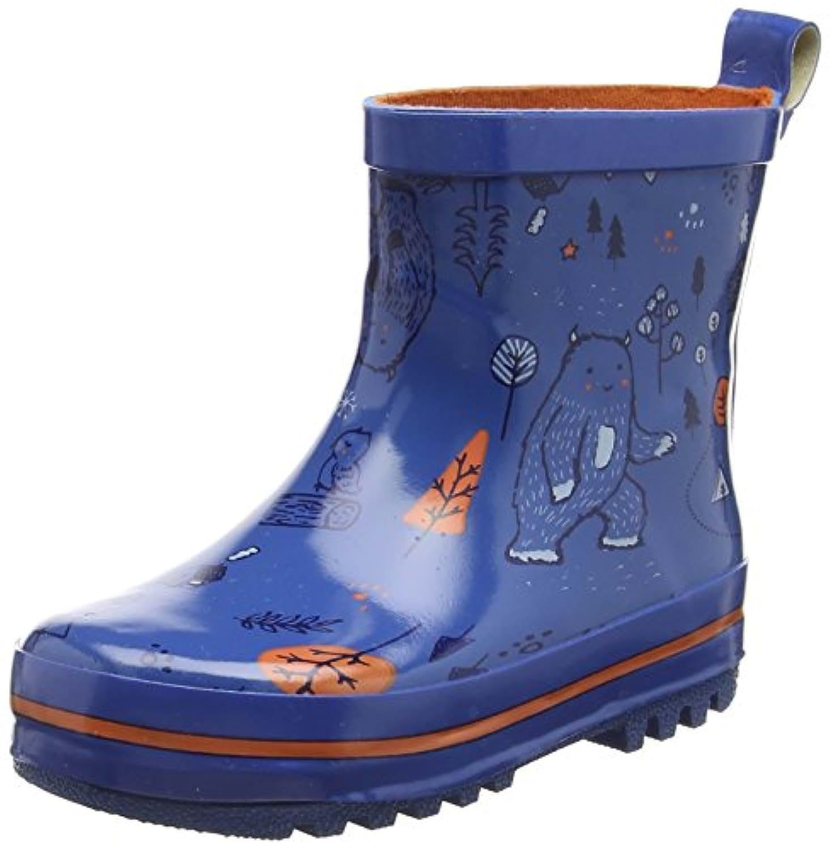 Pumpkin Patch Wildlife, Boys'  Combat Boots, Blue (Stratosphere), Child 11 UK (30 EU)