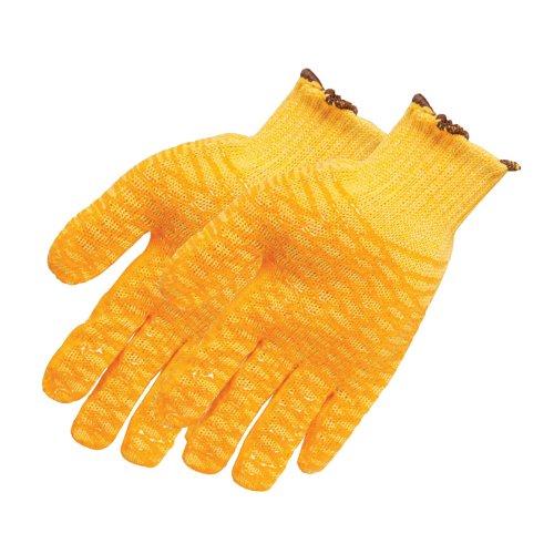 Silverline 349760 - Guantes amarillos antideslizantes (Talla grande)