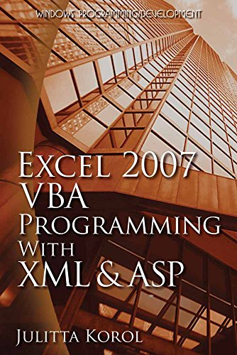 download excel 2007 vba programming with xml and asp wordware