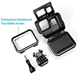Waterproof Housing With Touchable Backdoor For Gopro Hero 6/5