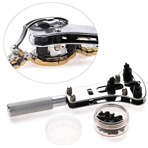 jumpeasy beruf wasserdicht schraubenschlüssel kit uhr cover entferner schaut da geöffnetreparatur zange der batterie tool