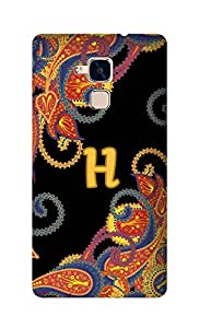 SWAG my CASE Printed Back Cover for Huawei Honor 5C