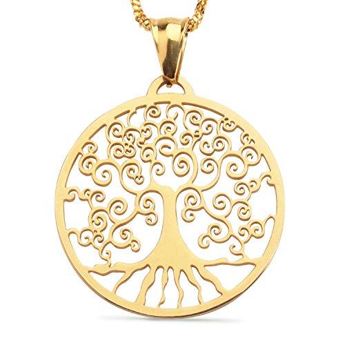 s Vergoldet Anhänger Halskette Für Paare Geschenke (Paare Kostüm Ideen)