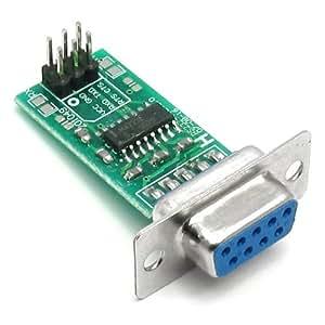 Adaptateur Convertisseur MAX232 / RS232 vers TTL pour PIC