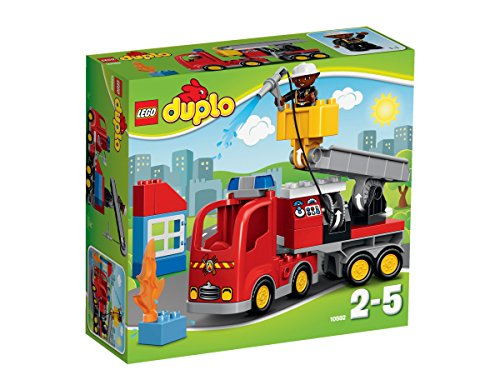 LEGO-Duplo-El-camin-de-bomberos-multicolor-10592
