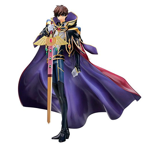 Megahouse Código Geass: Lelouch of The Rebellion R2 G.E.M. Series PVC Figura 1/8 Suzaku 25 c