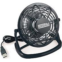 mumbi USB Ventilator Mini für den Schreibtisch mit An