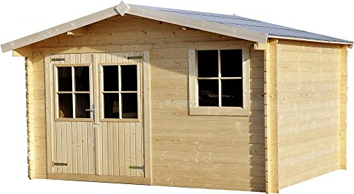 Log cabin 13ft (3.88m) x 10ft(2....