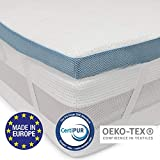 ⭐Orthopaedic Memory Foam Mattress Topper 90 x...