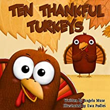 Ten Thankful Turkeys (English Edition)