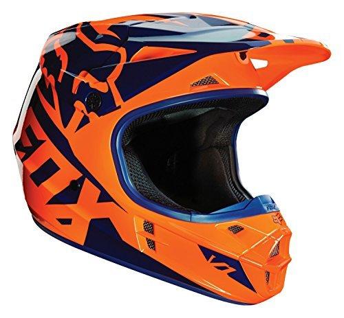 casque-motocross-fox-2016-v1-race-orange-bleu-m-orange