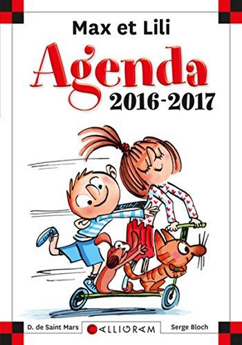 Agenda Max et Lili 2016-2017