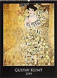 Gustav Klimt 2019 - Bildkalender (42 x 56) - Kunstkalender - Metallicfolienveredelung