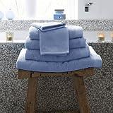 Handtücher-Set Bath [ 3er Set] Farbe: Arktisblau