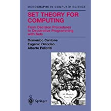 computational logic and set theory davis martin schwartz jacob t cantone domenico omodeo eugenio g