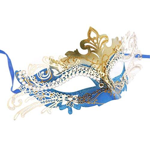 (Black Temptation Ball-Party-halbe Gesichtsmaske Kostüm Maske Prinzessin Maskerade Maske-A2)