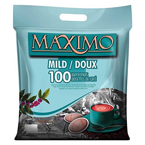 MAXIMO 100 Kaffeepads Mild