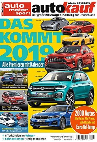 autokauf 01/2019: Der große Neuwagen-Katalog für Deutschland