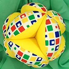 Pelota Montessori - Parchís Amarillo: Amazon.es: Handmade
