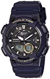 Casio Youth-Combination Analog-Digital Black Dial Men's Watch - AEQ-110W-2AVDF (AD208)