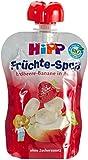 Hipp Früchte-Spaß Erdbeere-Banane in Apfel 4 x 90g, 4er Pack (4 x 360 g)