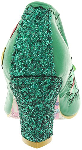 Irregular Choice - Bunny Journey, Scarpe col tacco Donna Verde