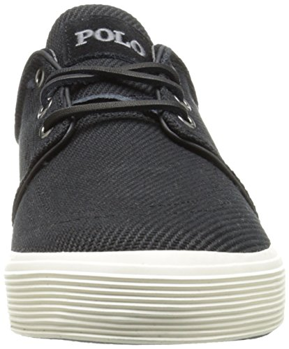 Ralph Lauren Faxon Low SK VLc Olive Mens Trainers Polo Black