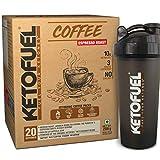 KETOFUEL COFFEE COLD BREW Espresso Keto Coffee Powder with Coconut & MCT Oil