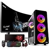 Megamania PC Gaming AMD Ryzen 7 2700 (8 Núcleos up to 4,1Ghz) | 16GB DDR4 | SSD 480GB + 1TB HDD Esclavo | Radeon RX580 8GB |
