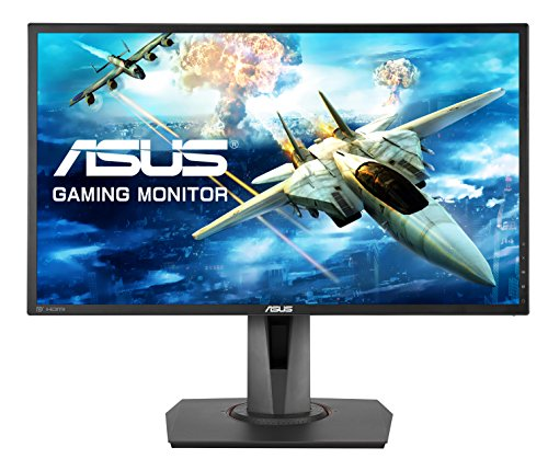 ASUS MG248QR 24-inch Gaming Monitor, FHD (1920 x 1080), 1 ms, Upto 144 Hz, DP, HDMI, DVI-D, FreeSync