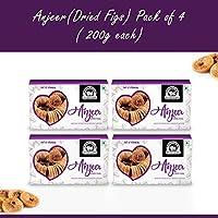 Wonderland Foods Premium Quality Anjeer (Dried Figs) 800g - Pack of 4 (200g Each)