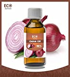 #8: Eco Aurous Onion Oil 100% Pure & Natural Carrier Oil | Onion Carrier Oil | Onion For Skin Whitening | Cold Pressed Onion Oil | Onion Oil For Hair Growth | Onion Oil For Hair Regrowth | Onion Oil For Ears | Onion Oil For Hair 30 ml