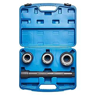KRAFTPLUS® K.277-6651 Spurstangengelenk Werkzeug Satz Spurstangenkopf Axialgelenk Abzieher - 4-tlg.