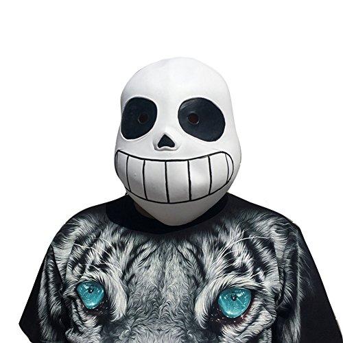 Halloween Maske Lächelndes Gesicht Maske - hibote Latex Maske für Gekleideten Abend / Halloween / Karneval / Masken Party/ (Kostüme Uk Halloween Saw)