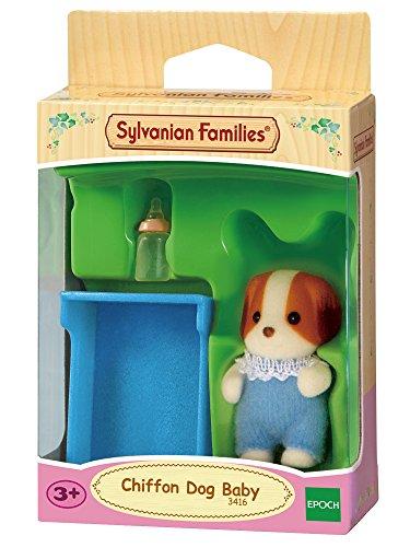 Sylvanian Families - 3416 - Mini-Poupée - Bébé Chien Chiffon - Coloris aléatoire