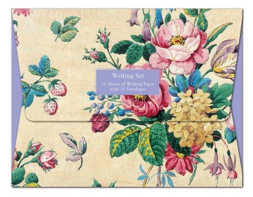Alive in Wonderland-British Library-Set per corrispondenza con 10 fogli di carta da lettere con buste, motivo stampato a