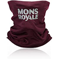 Mons Royale Neckwarmer Double Up Vert Accessories, Unisex