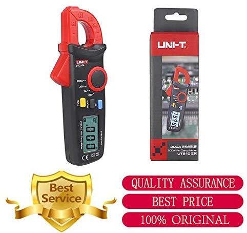 WYZXR UT210A 2000 Conuts Mini LCD Elektrik Professionelle Multifunktions-Leckstromzangen-Messgeräte mit hoher Empfindlichkeit
