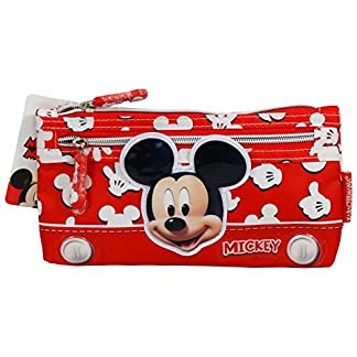 Disney Mickey Mouse Funny Estuche Escolar Làpices de Colores Necesser