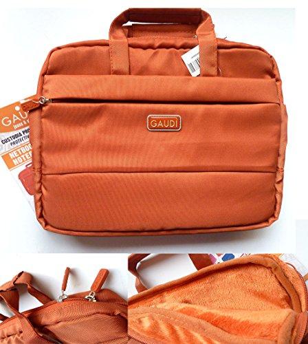 Preisvergleich Produktbild 'Tasche für Notebook 11Gaudi Orange mit Griff