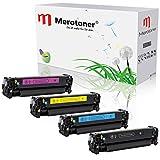 Merotoner Premium Toner Set Kompatibel zu Hp Laserjet Pro 300 305A 305X Color M351A M375NW MFP