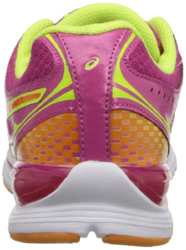 Asics Gel-Storm Damen Synthetik Laufschuh Rapsberry/Mango/Flash Yellow
