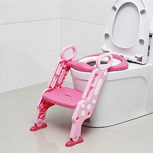 Children's toilet Enfants Toilette- Siège De Toilette pour Enfant Chaise D'échelle Femme Bébé Enfant Siège De Garçon Rondelle Bébé 1-3-6 Ans Grand Urinoir
