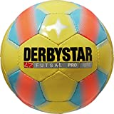 Derbystar Futsal Pro Light, Gelb/Blau, 4, 1086400567
