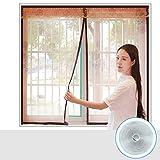 Fenster-bildschirme anti-moskito magnetische fliegengitter im sommer, Heavy-duty mesh bildschirm selbstklebende heavy-duty mesh bildschirm heavy-duty maschensieb-C 150x160cm(59x63inch)