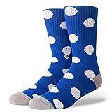 Stance Socks Nord Male Socks In Navy Con L'Athletic Coste Elastico Sostegno Di Arco Tallone E Punta Rinforzati Senza Saldatura Toe Chiusura - M