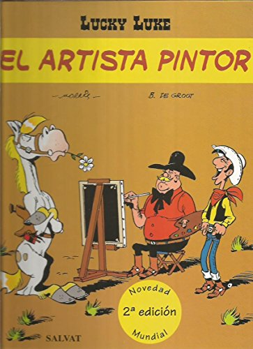 El Lucky Luke - Artista Pintor par MORRIS