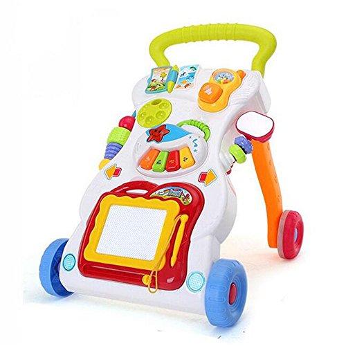 Rainbow Fox Nuevo Juguetes Andador para formación Bebés caminar y primero paso mejor regalos para bebé