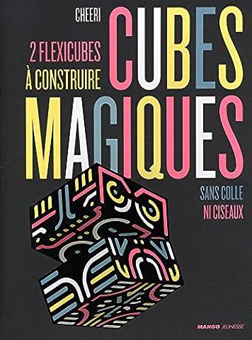 Cubes magiques : 2 flexicubes à construire sans colle ni ciseaux